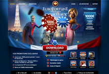 Code bonus EuroFortune Casino