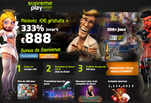 Code bonus Casino SupremePlay