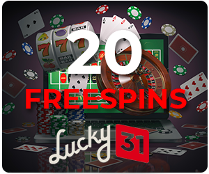 Lucky31 25 free spins